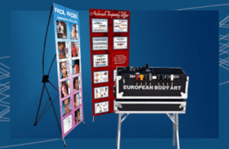 3374da12ca4d656b7024954348018225 Air Brush Glitter Art/ Face Paint