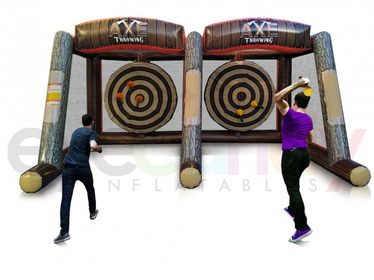 Double AXE Throwing